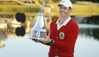 De regreso. Rory McIllroy volvió a ganar tras sufrir lesiones y problemas de juego. Foto: Reuters