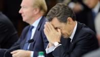 Foto de archivo de Nicolas Sarkozy. Foto: EFE
