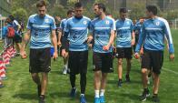 La selección uruguaya trabajará con todos sus futbolistas en Nanning