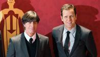 Joachim Löw y Oliver Bierhoff. Foto: FIFA.