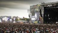 Lollapalooza 2018 en Argentina. Foto: La Nación.