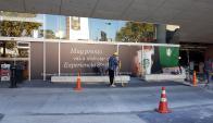 Obras de Starbucks en Montevideo Shopping. Foto: cedida a El País por lector