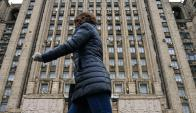 Moscú: el gobierno ruso reunió a los embajadores para dar su versión sobre el caso Skripal y su hija. Foto: AFP