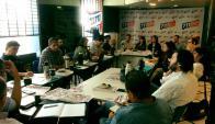 Sector de Sendic se reunió el pasado fin de semana para analizar impacto. Foto: Lista 711