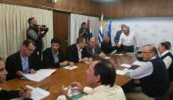 Los productores llevaron una propuesta concreta para bajar el gasoil. Foto: Francisco Flores