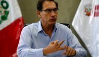 Martín Vizcarra. Foto: Reuters