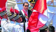 Vizcarra: es desde ayer el mandatario más joven de América del Sur: 55 cumplidos el jueves. Tabaré Vázquez (78) es el de mayor edad. Foto: AFP