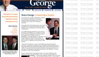 Kenn George, republicano, será el futuro embajador en Uruguay. Foto: kenngeorge.com