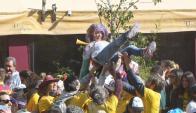 Festejos en el Mercado del Puerto. Foto: Francisco Flores