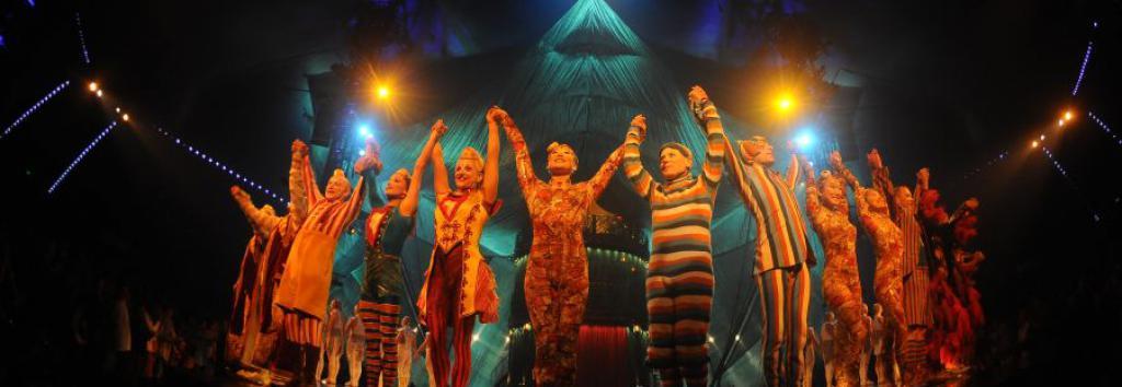 Cirque du Soleil en Montevideo. Foto: Marcelo Bonjour
