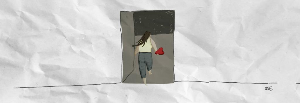 Episodio 2: Cita pendiente. Ilustración: Carolina Faget. Escuchá el podcast
