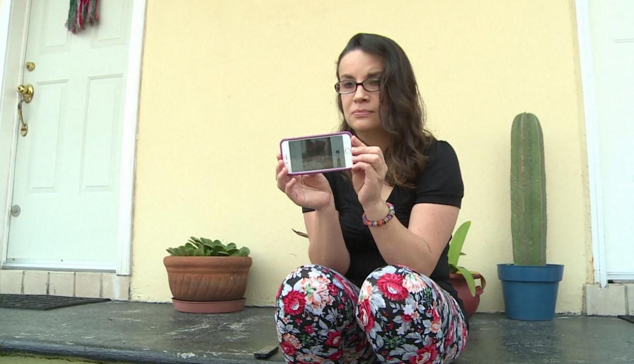 Lucía Zamora sobrevivió al terremoto en México. Foto: Captura de video.