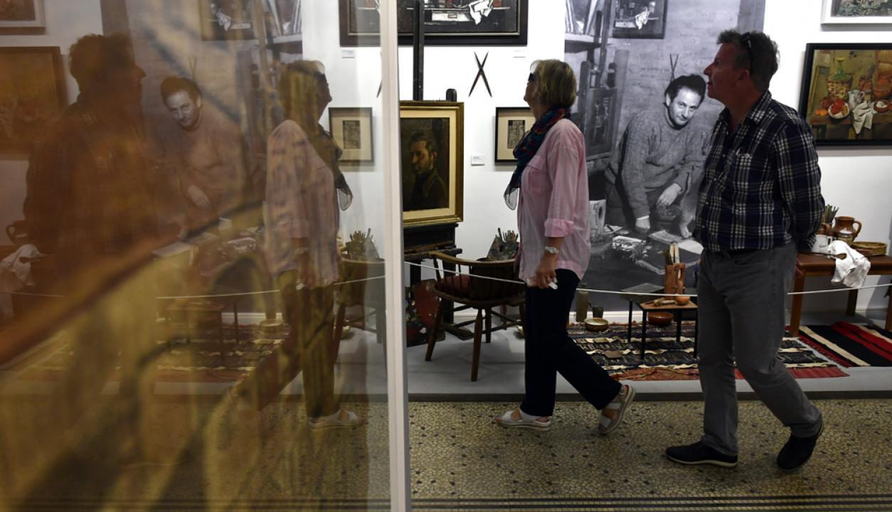 -El  Museo Gurvich es visitado el día del patrimonio. Foto: Fernando Ponzetto
