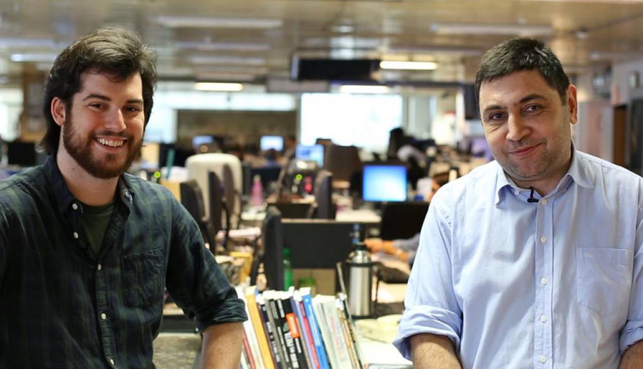 Pablo Staricco y Fernán Cisnero. Foto: Florencia Traibel