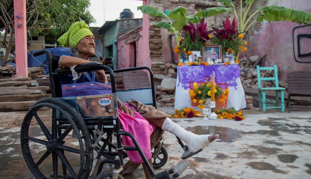 México celebra el Día de los Muertos. Foto: EFE