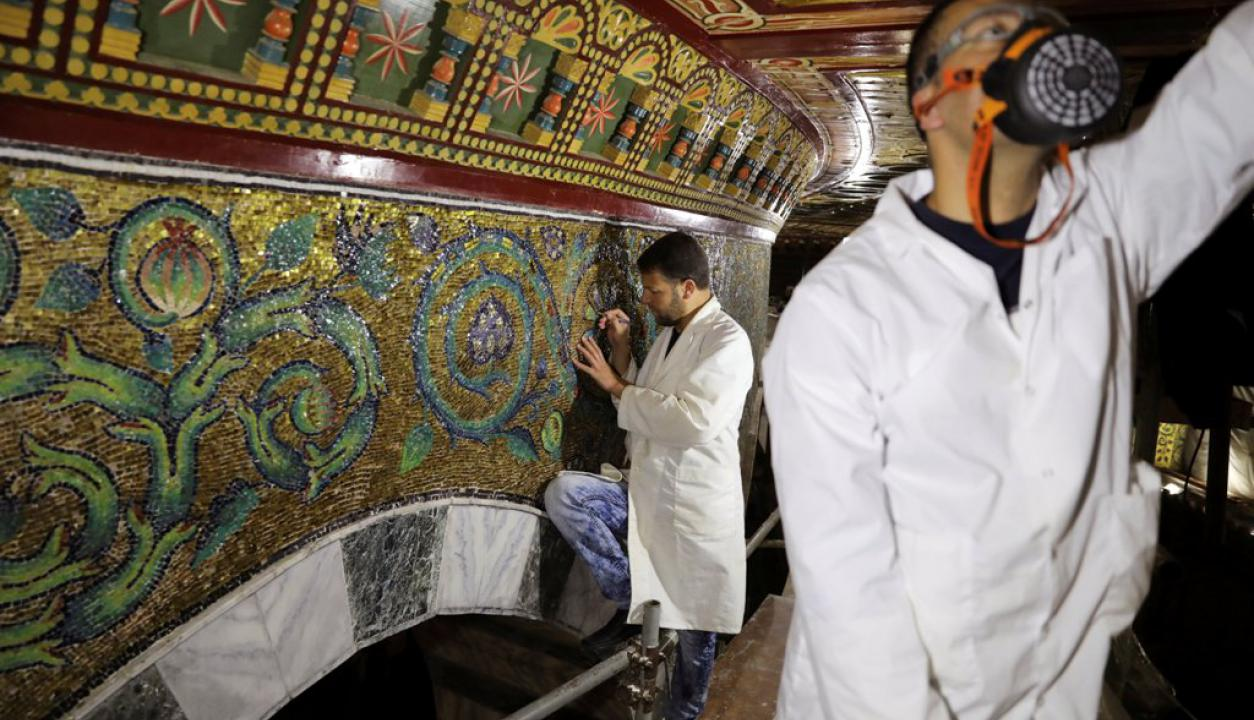 Domo de la Roca. Foto: Reuters