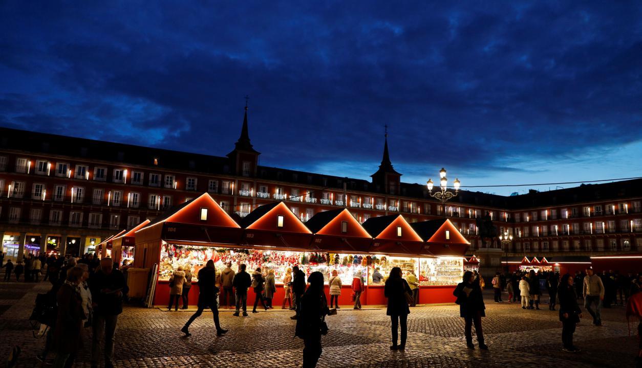 Plaza mayor, Navidad