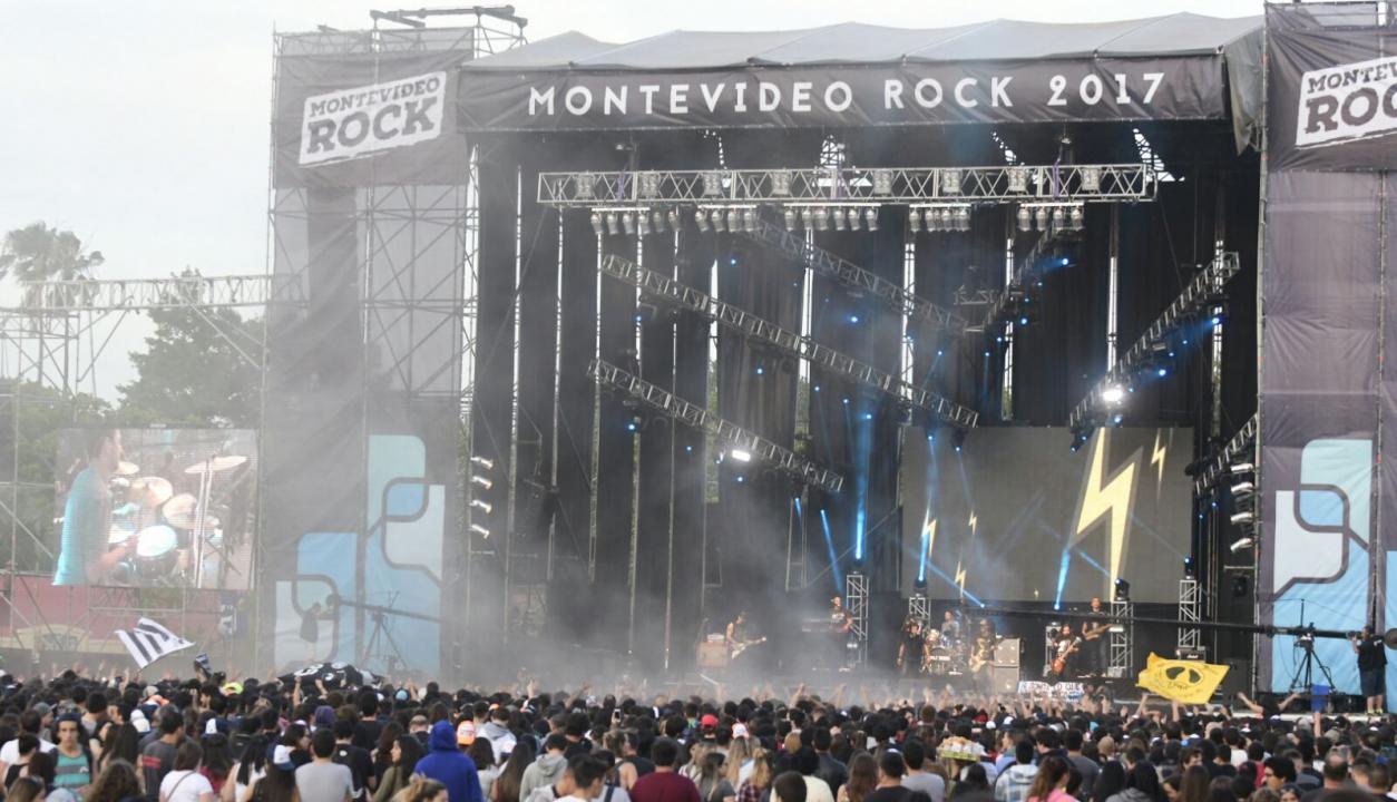 Montevideo Rock es organizado por la comuna capitalina. Foto: Marcelo Bonjour