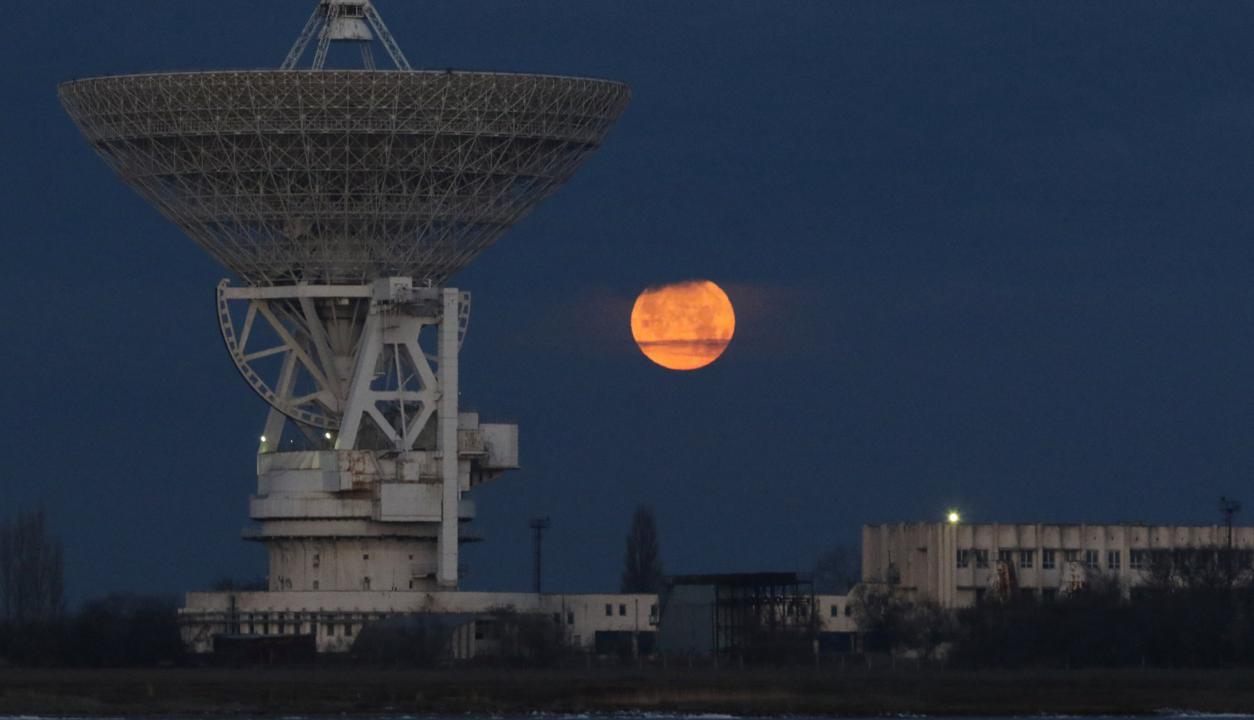 Superluna en Crimea