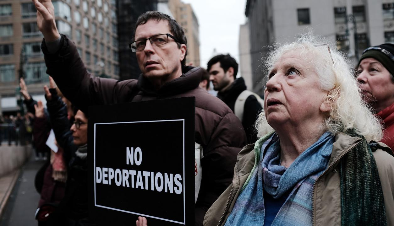 Manfestación inmigrantes