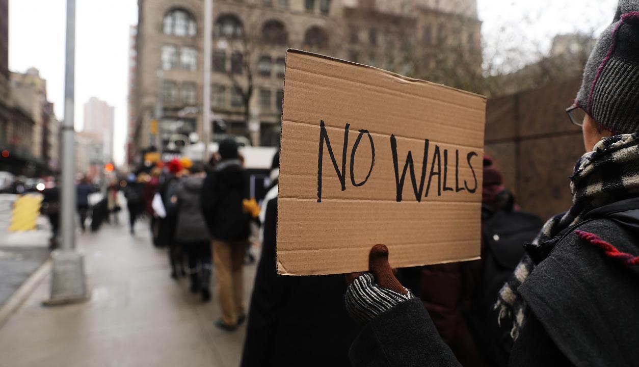 Protestas inmigrantes USA