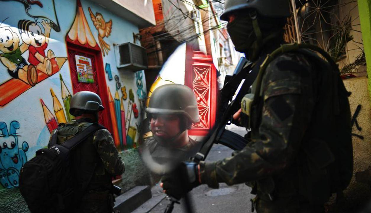 Cuatro favelas de Río de Janeiro han sido intervenidas en un operativo antidrogas. Foto: AFP
