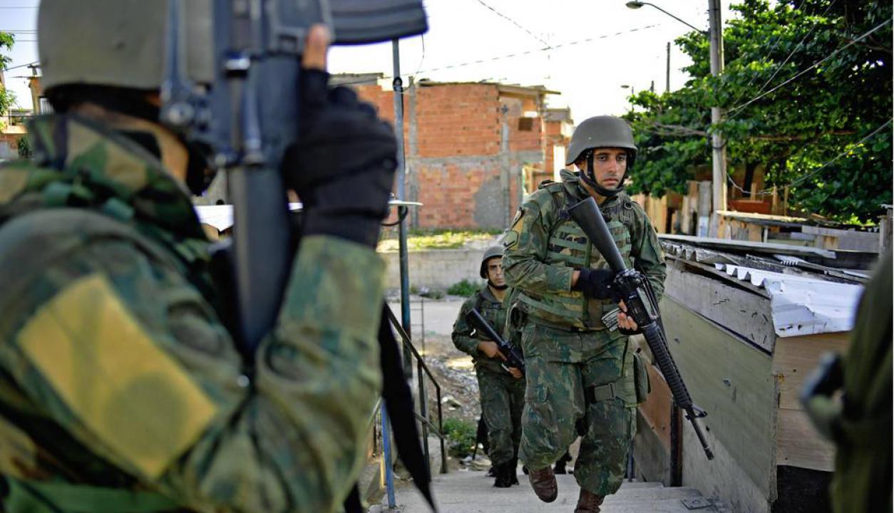 La gran cantidad de policías muertos en los primeros días del año es una de las causas de este operativo. Foto: AFP