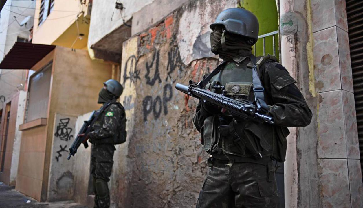 Hasta el momento hay casi una decena de detenidos. Foto: AFP