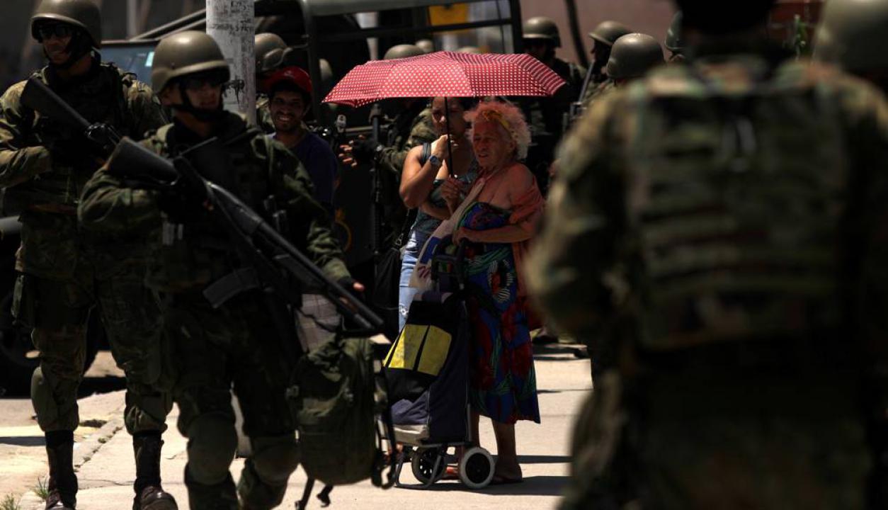 Jacarezinho, Manguinhos, Mandela y Arará son las cuatro favelas intervenidas. Foto: AFP