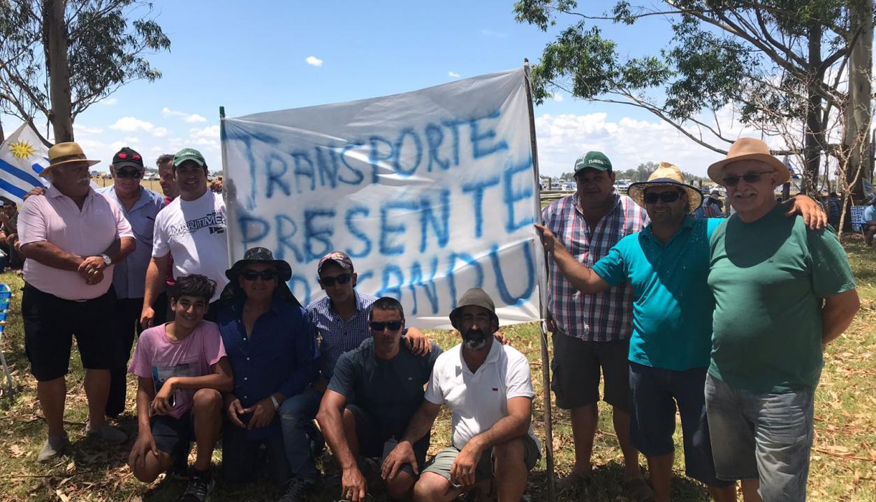 Movilización del agro en Durazno. Foto: Mateo Vázquez