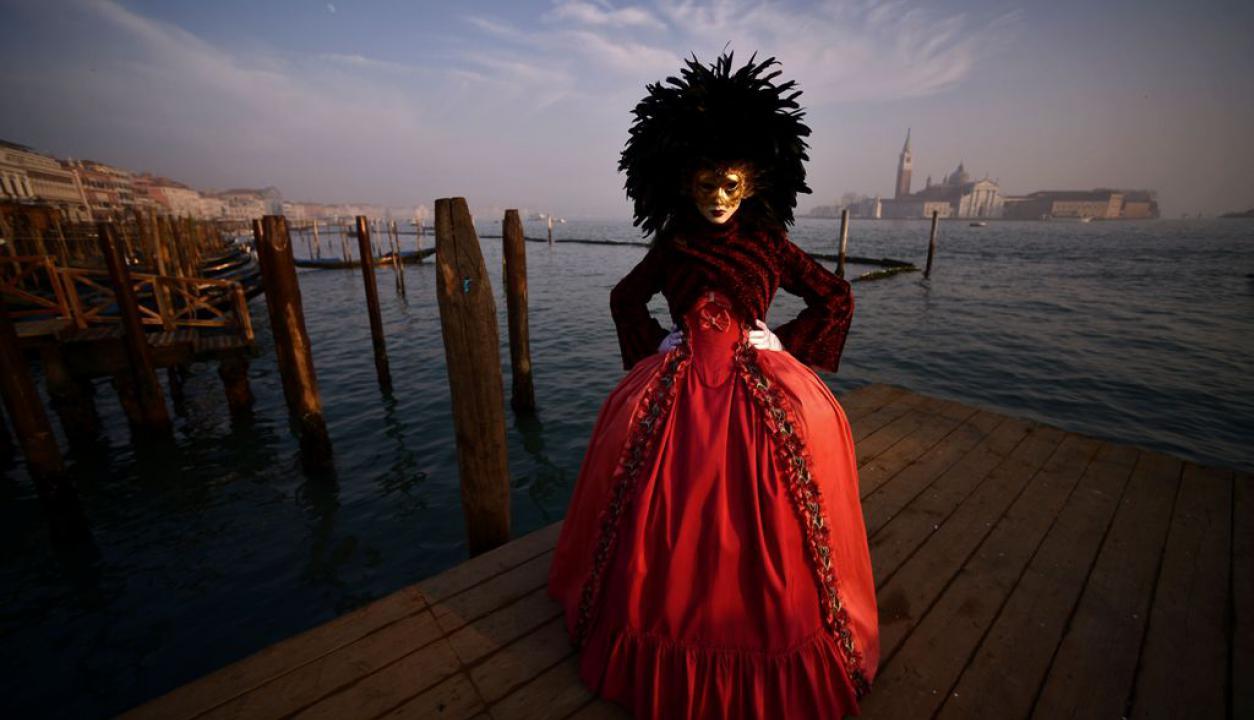 Comenzó el carnaval de Venecia. Foto: Reuters