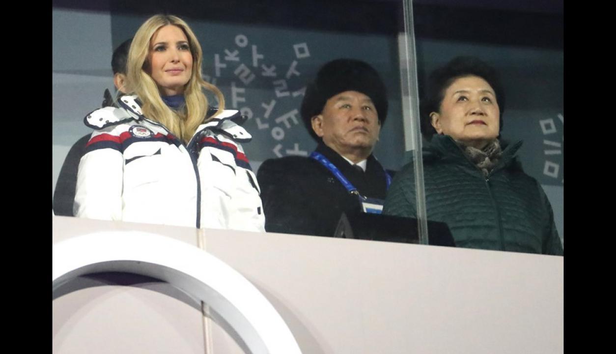 Ceremonia de clausura de los Juegos Olímpicos de Invierno en Pyeongchang. Foto: Reuters