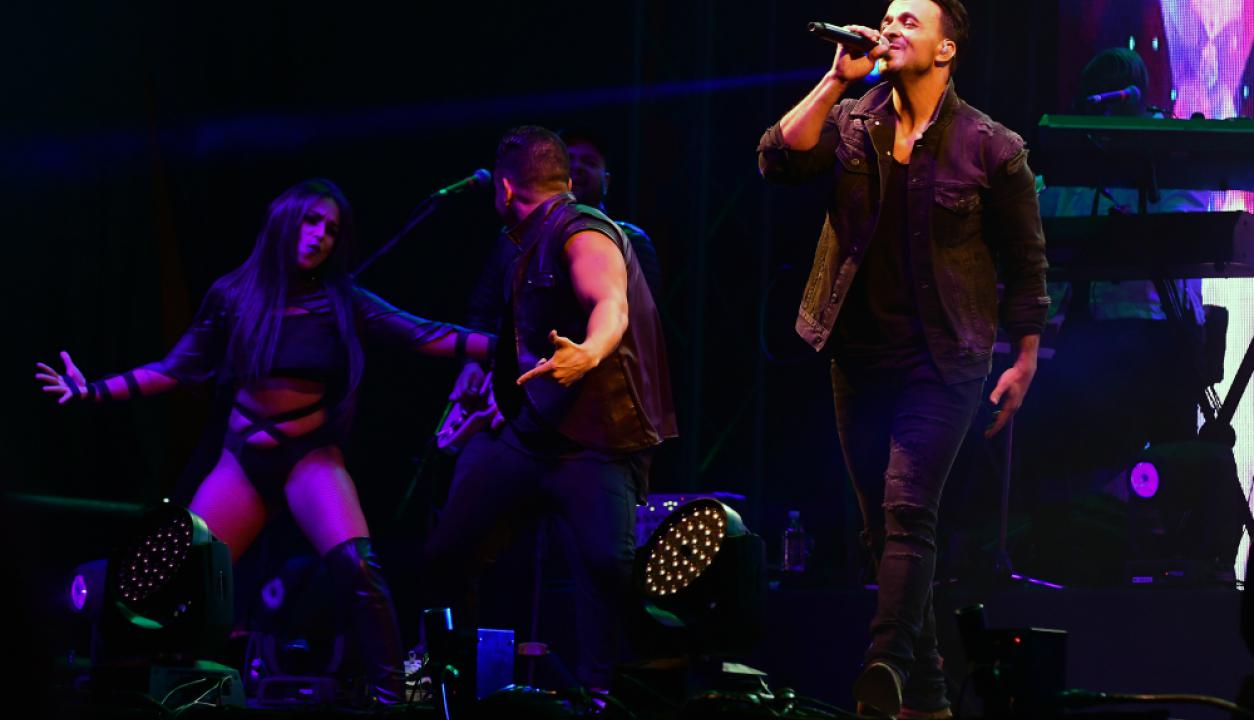 A poco más de un año de haber lanzado la canción que cambiaría su carrera, Luis Fonsi regresó a Uruguay. Foto: Nicolás Pereyra