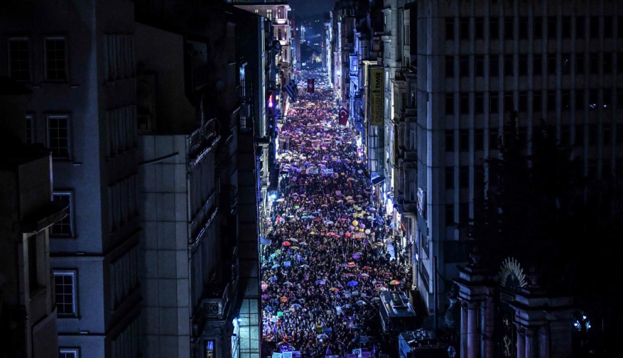 Estambul, Turquía. Foto: AFP