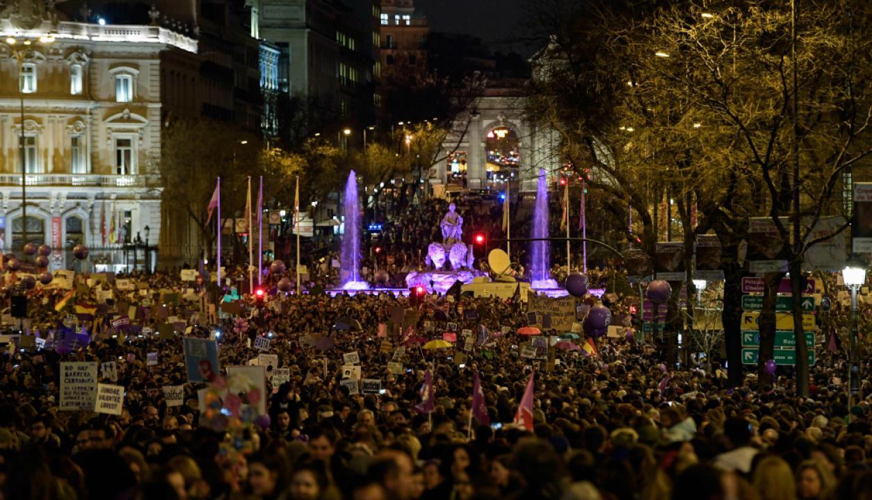Madrid, España. Foto: AFP