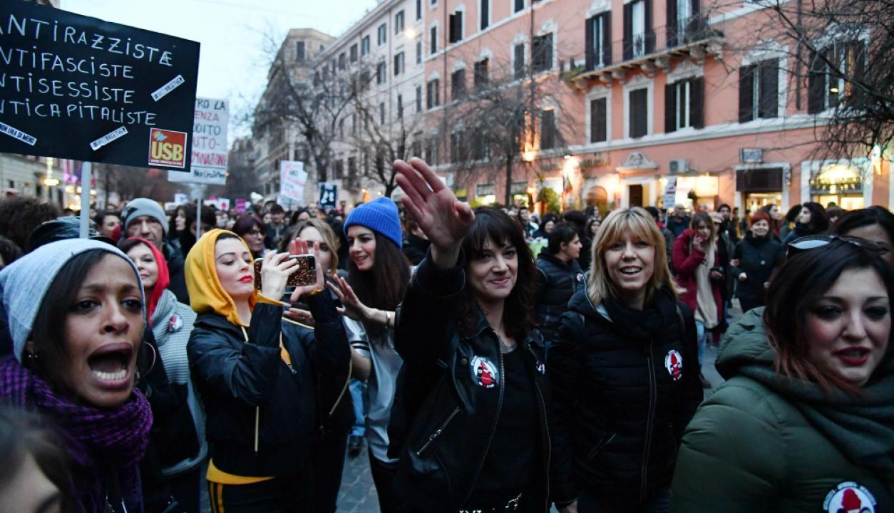 Italia. Foto: AFP