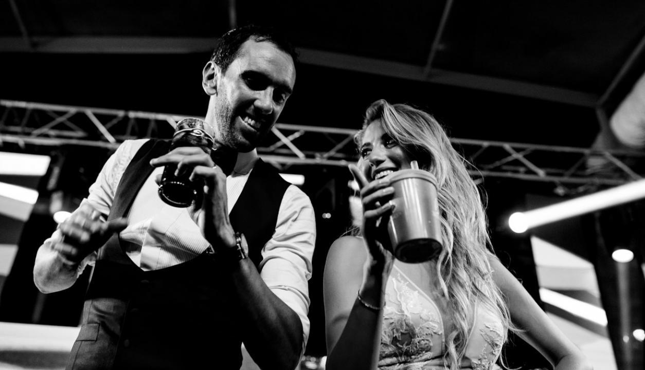 Casamiento Diego Godín y Sofía Herrera. Fotos: Boffano Studios