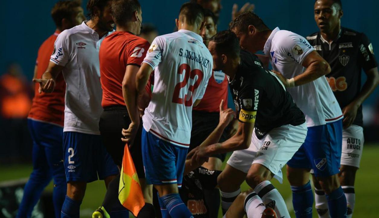 Nacional le ganó a Atlético Mineiro y quedó como líder en el Grupo E. Fotos: Gerardo Pérez / El País