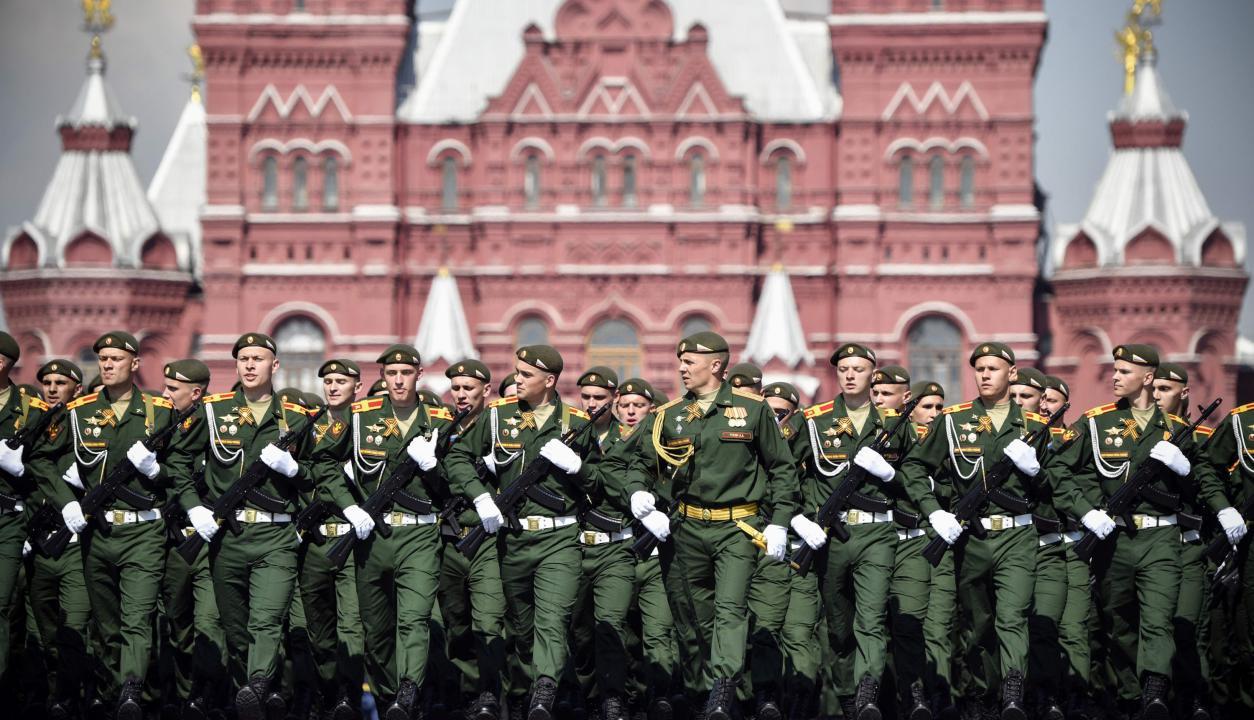 El 9 de mayo Rusia celebra el Día de la Victoria en Moscú. Foto: AFP