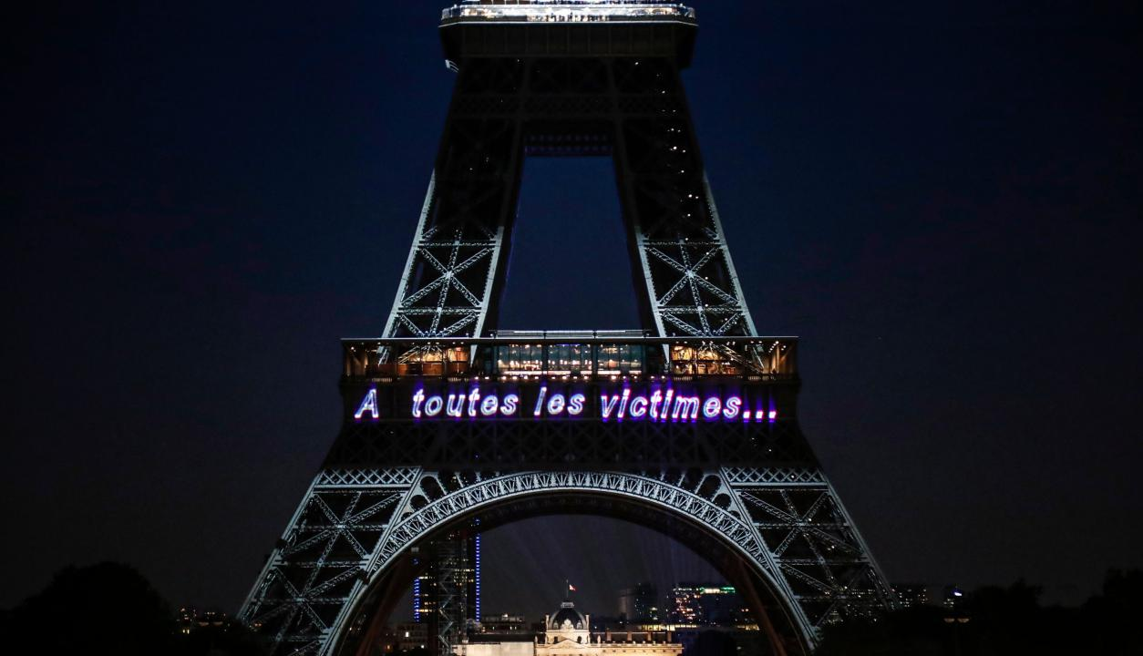 Aniversario por los 130 años de la Torre Eiffel. Foto: AFP