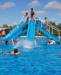 Las Termas del Arapey celebraron 75 años de la creación de la primera piscina. Foto: Luis Pérez