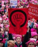 Las marchas contra el acoso sexual se han extendido por el mundo. Foto: AFP