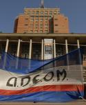Adeom pide diálogo. Foto: archivo El País