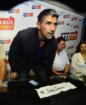 Raúl Sendic en conferencia de prensa del lunes. Foto: Gerardo Pérez.