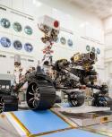 Perseverance el nuevo róver marciano de la Nasa. Foto: AFP