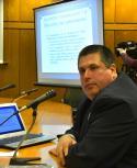Nicolás Cendoya se presentó ante la Comisión de Industria de la Cámara de Diputados. Foto: Leonardo Mainé