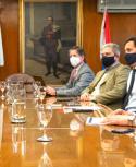 Técnicos y directorio del Banco Central se reunieron ayer para evaluar la situación económica. Foto: BCU