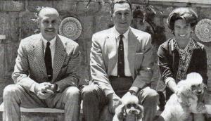 Benito Llambí, Juan Domingo Perón y Beatríz Haedo de Llambí, 1968. Foto: Archivo familia Haedo