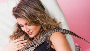 """""""La chica del lagarto"""" piensa escribir sobre maternidad en su blog lachicadellagarto.com."""
