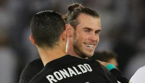 Gareth Bale y Cristiano Ronaldo, los anotadores de Real Madrid ante Al Jazira. Foto: Reuters